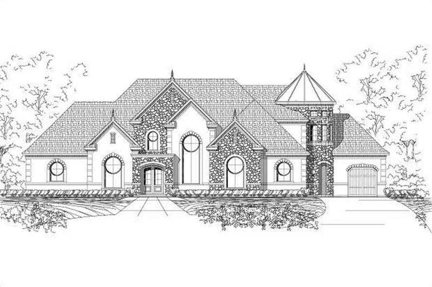 Main image for house plan # 15981