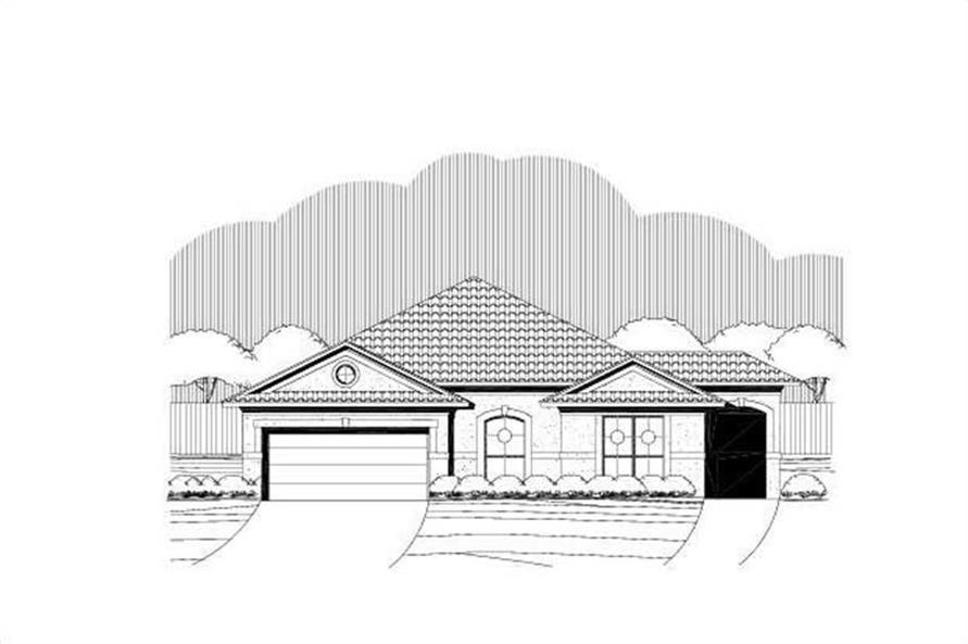 Main image for house plan # 19709