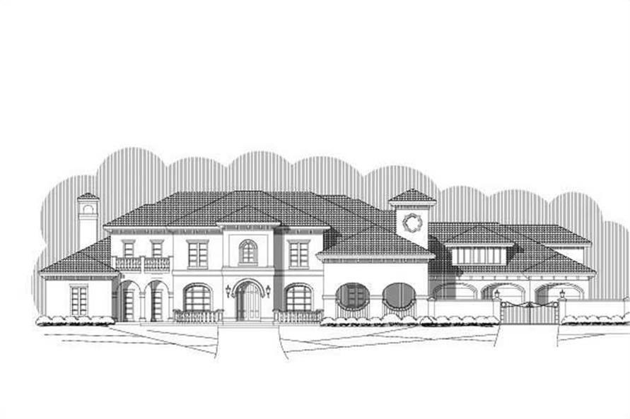 Main image for luxury house plan # 19705