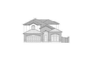 5-Bedroom, 3551 Sq Ft Luxury Home Plan - 156-2326 - Main Exterior