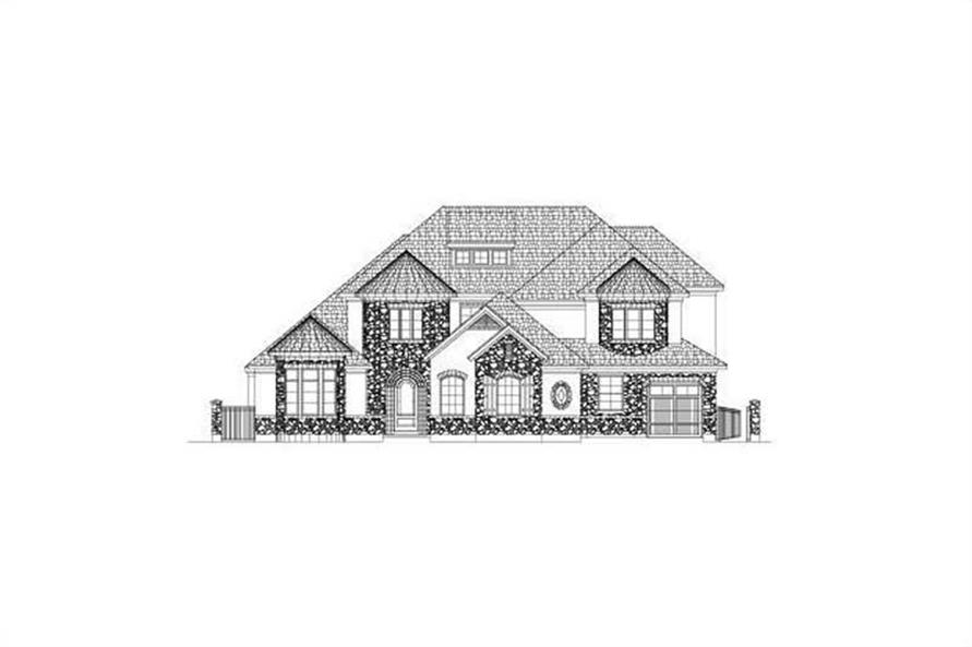 Main image for house plan # 15704