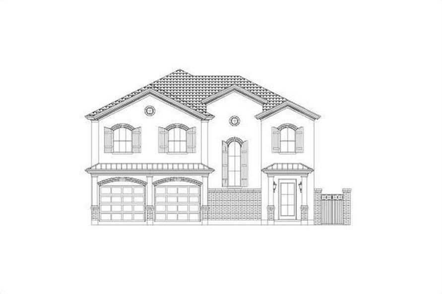 3-Bedroom, 3070 Sq Ft House Plan - 156-2335 - Front Exterior