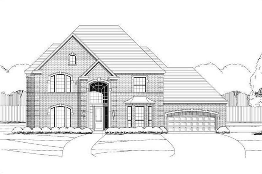 Main image for house plan # 15161