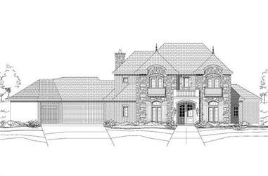 4-Bedroom, 3514 Sq Ft Country Home Plan - 156-2339 - Main Exterior