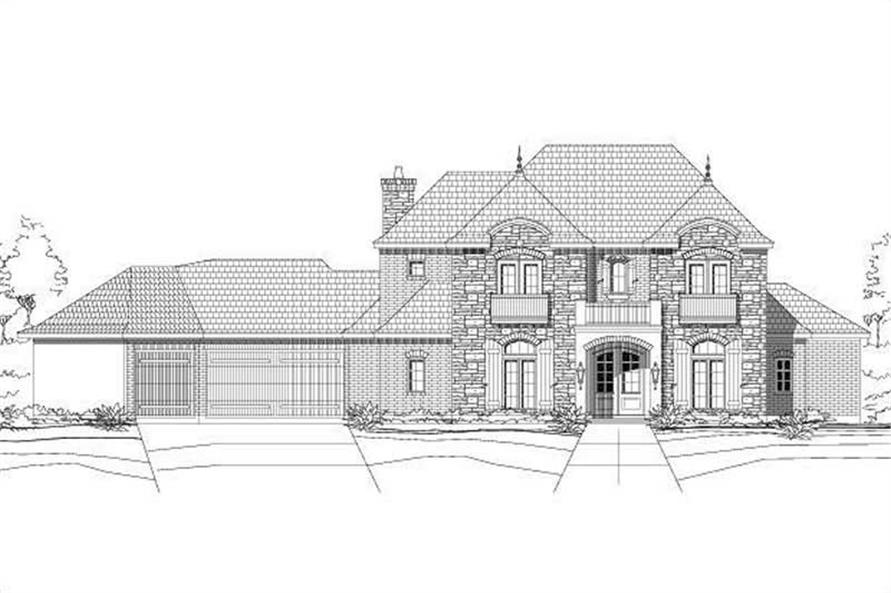 Main image for house plan # 15157