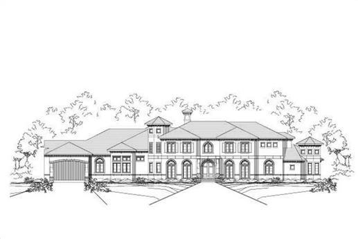 Main image for luxury house plans # 19741