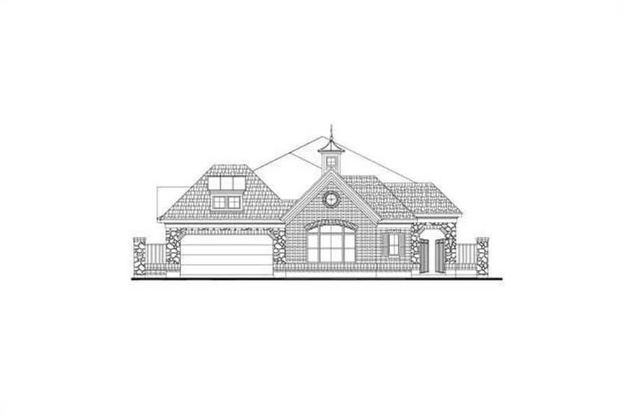 Main image for house plan # 15941