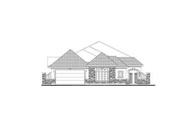 3-Bedroom, 2699 Sq Ft Tuscan Home Plan - 156-2351 - Main Exterior