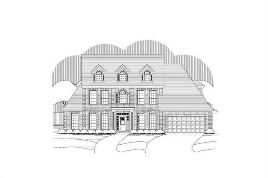 Main image for house plan # 15153