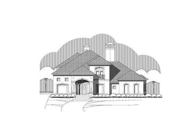 Main image for luxury house plans # 19740