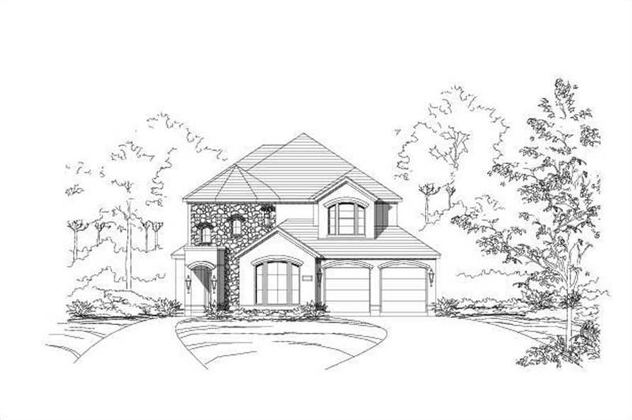 Main image for house plan # 15155