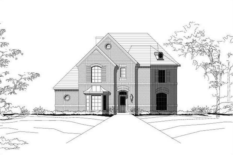 Main image for house plan # 15177
