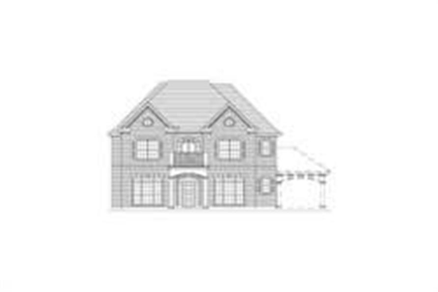 Main image for house plan # 15734
