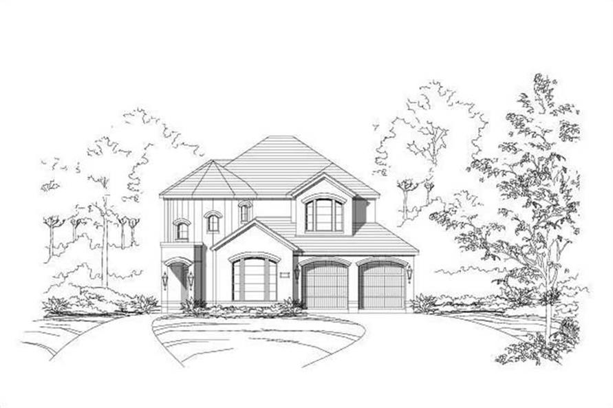 Main image for house plan # 15111