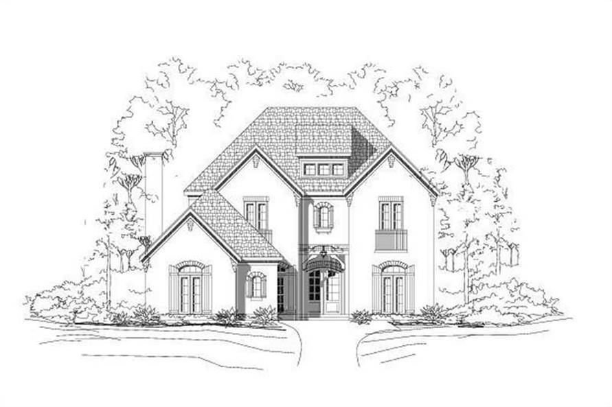 Main image for house plan # 15384