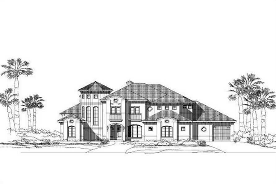 Main image for house plan # 15761