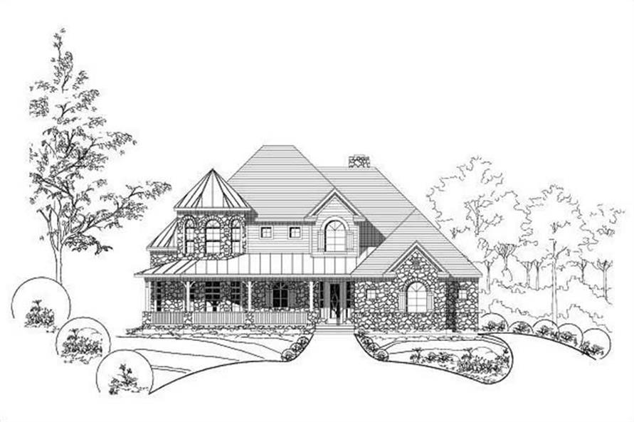 Main image for house plan # 15026