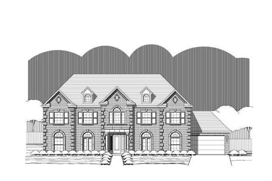 Main image for house plan # 15367