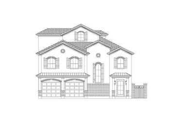 3-Bedroom, 3548 Sq Ft Luxury House Plan - 156-2402 - Front Exterior