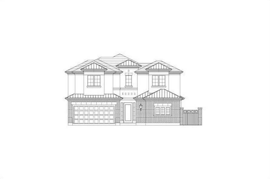 Main image for house plan # 15752