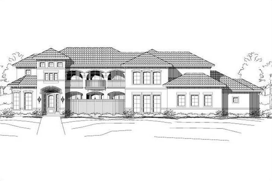 Main image for house plan # 15115