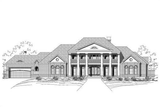 Main image for house plan # 15238
