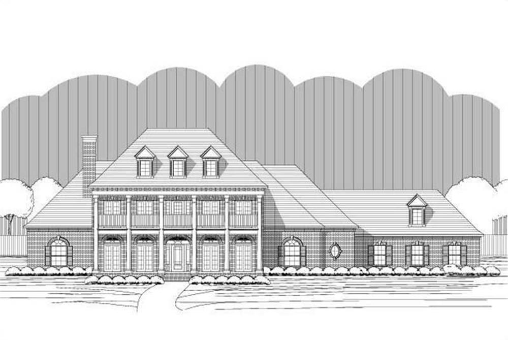 Main image for luxury house plans # 19723