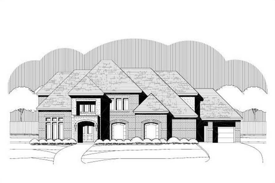 Main image for house plan # 15605