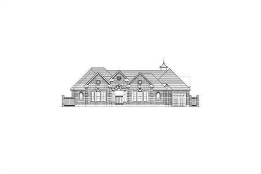 Main image for house plan # 15852