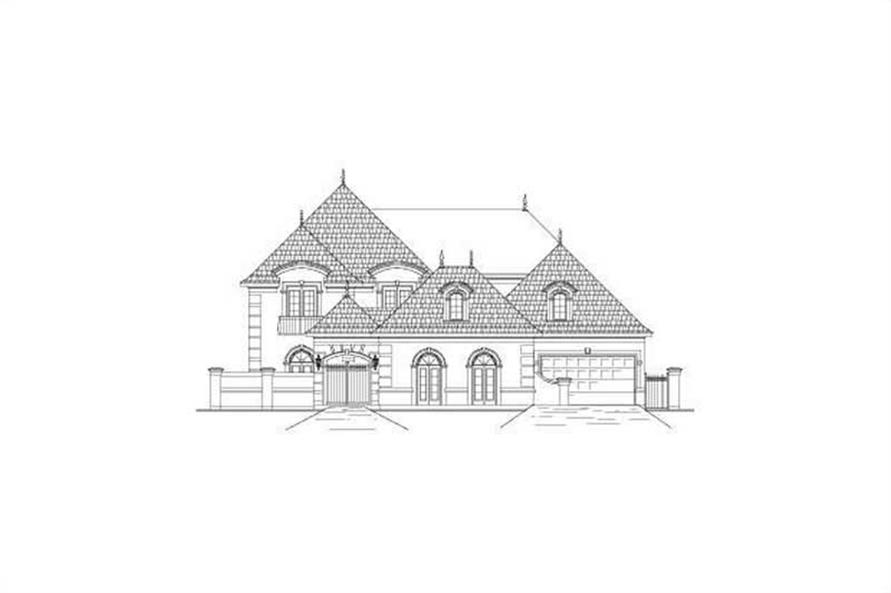 Main image for house plan # 15730