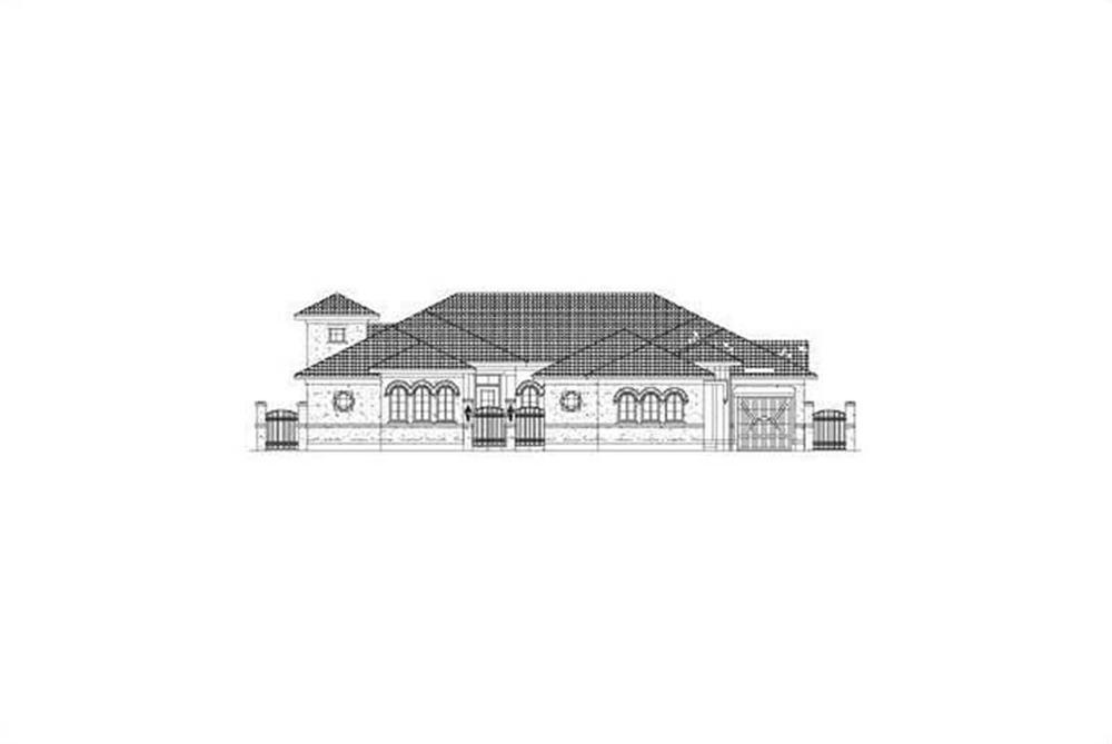Main image for house plan # 15851