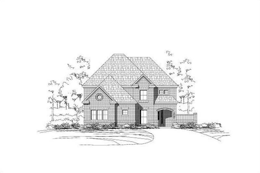 Main image for house plan # 15527