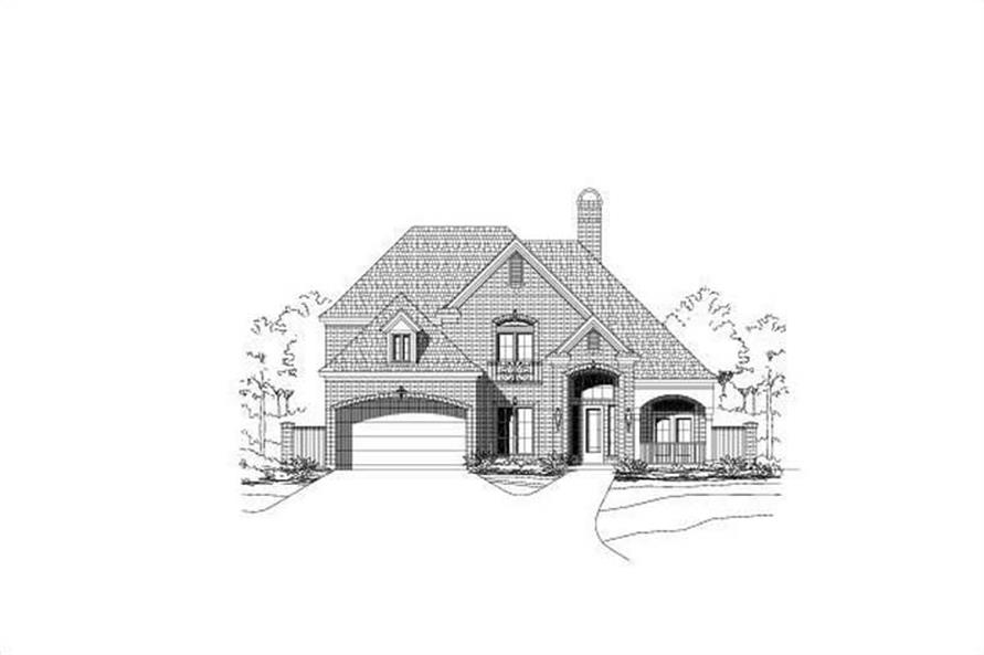 Main image for house plan # 15346