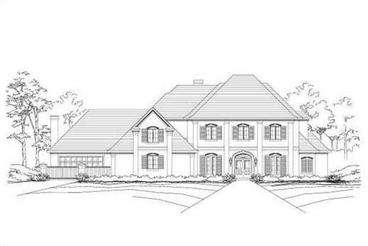 Main image for luxury house plan # 19392