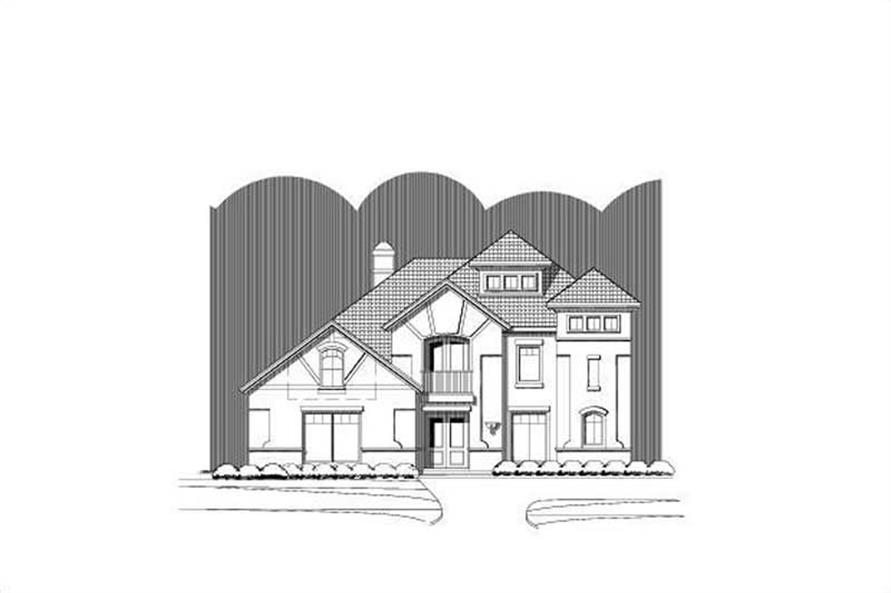 Main image for house plan # 15675
