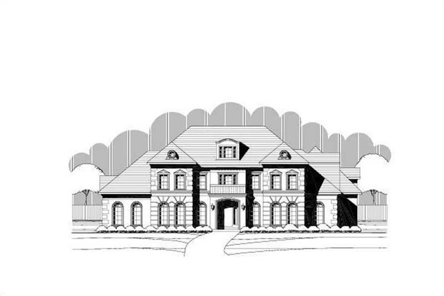 Main image for luxury house plans # 19725