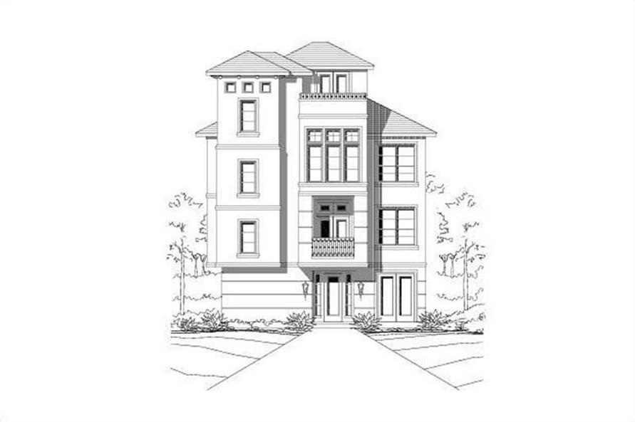 Main image for house plan # 19493