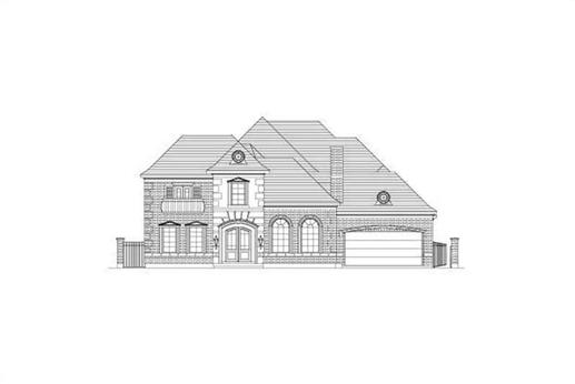 Main image for house plan # 15716