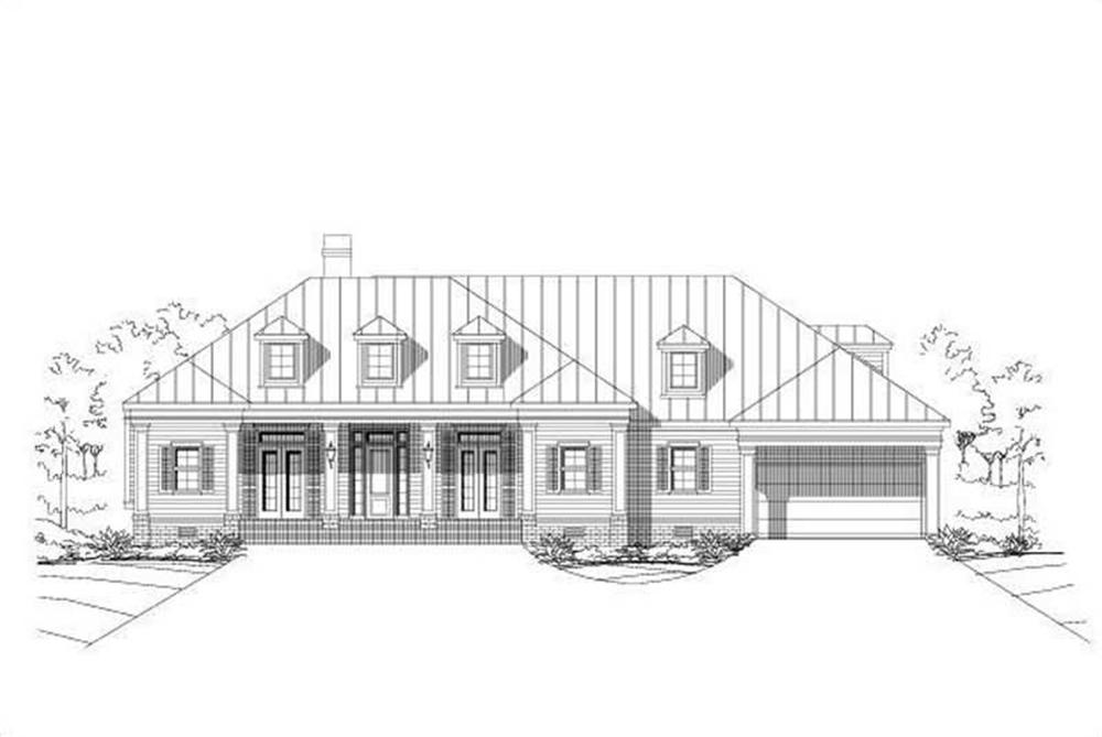 Main image for house plan # 15350