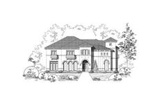 Main image for house plan # 15523