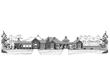 Main image for house plan # 15280