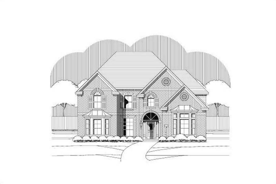 Main image for house plan # 15272