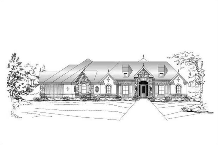 Main image for house plan # 15519