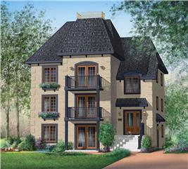 House Plan #157-1004