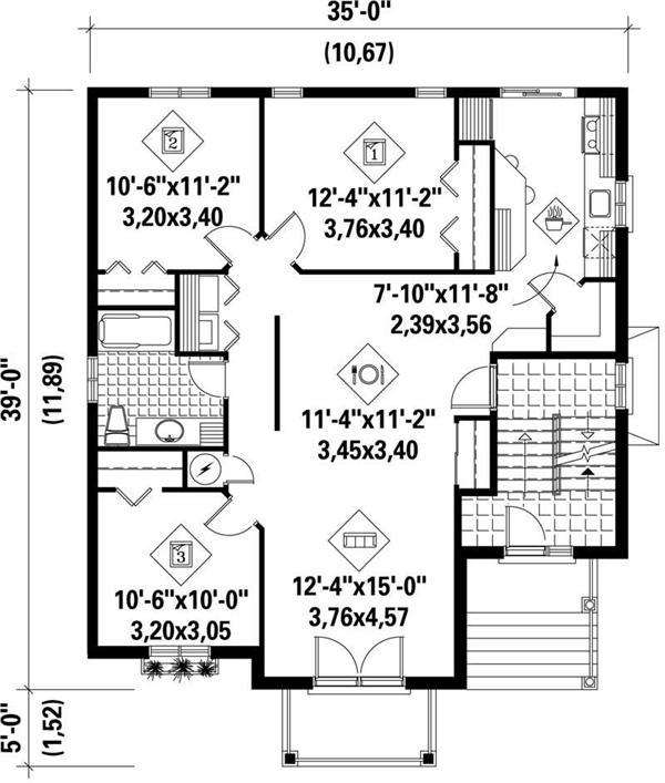 HOME PLAN PI-40259