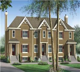 House Plan #157-1010