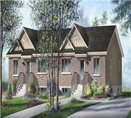 House Plan #157-1015