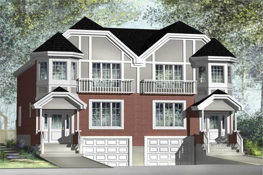 Main image for house plan # 17860
