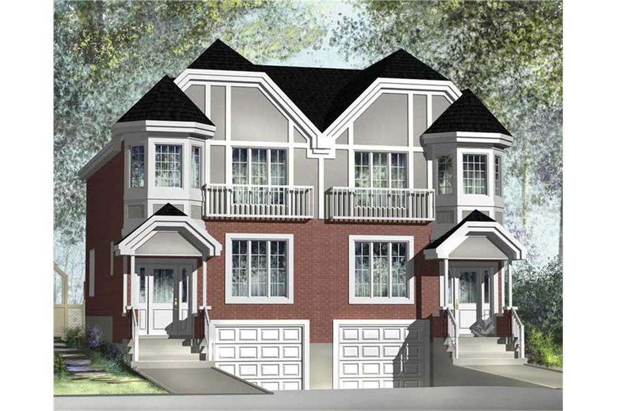 Home Plan Rendering of this 6-Bedroom,3544 Sq Ft Plan -3544