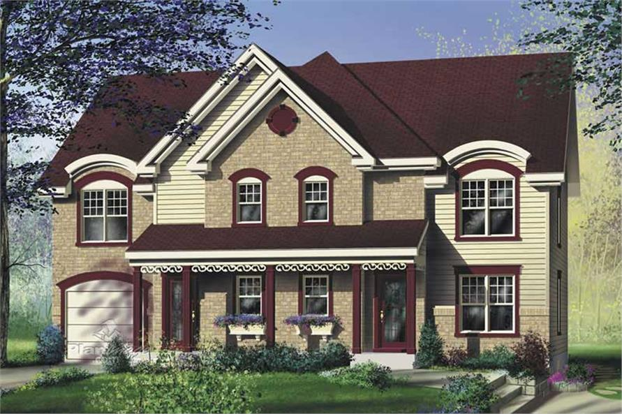 Main image for house plan # 17894
